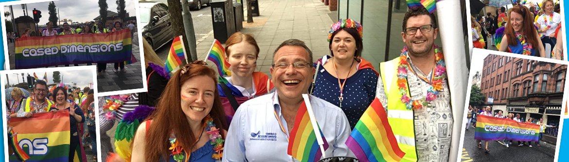 Cased Dimensions Joins Belfast Pride Parade