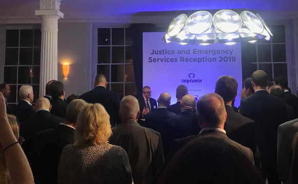 Cased Dimensions participates in the UK Justice and Emergency Services Reception 2019